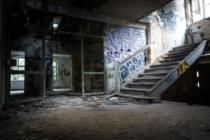 Abandoned building building concrete structure 1029696