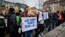 Proteste bei Fridays for Future
