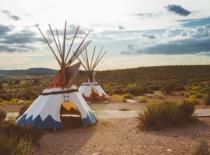 Tipi Indianer Zelt Winnetou