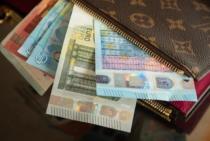 Die Tasche(n) voll Geld