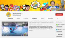 Ryan's World YouTube Kanal