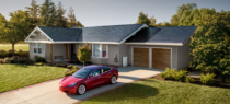 Solarroof smooth glass