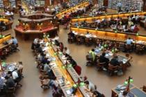 Uni Studenten Universität Student Bibliothek