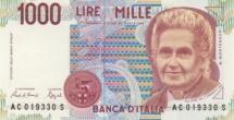 1000 Ital Lire