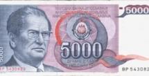 5000 Dinar Tito