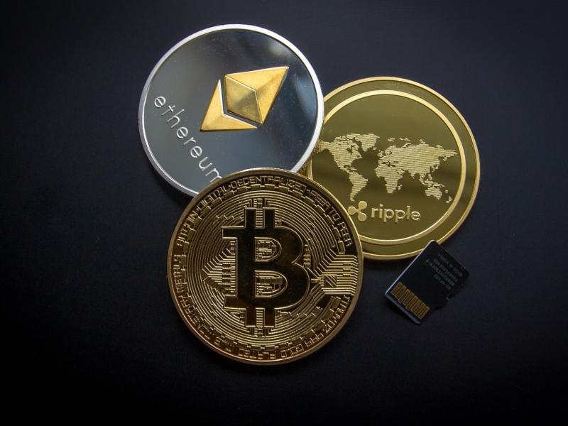 Bitcoin, Ethereum und Ripple