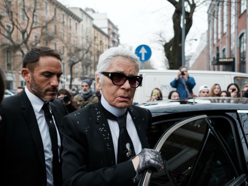 Zaster Die Besten Geld Zitate Von Karl Lagerfeld