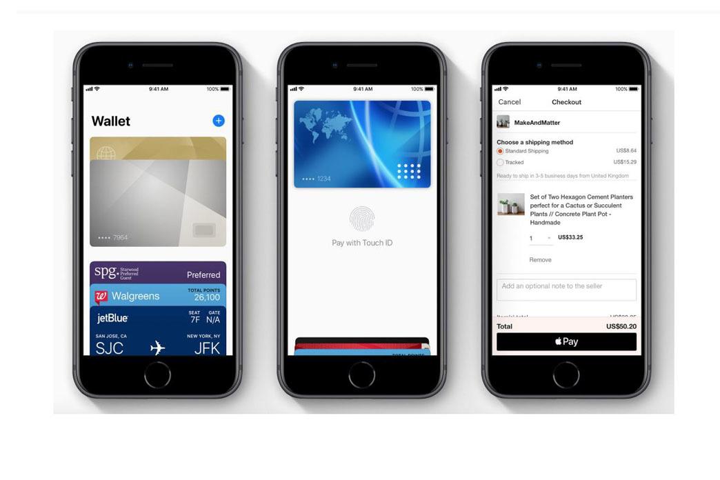 Du hinterlegst deine Kreditkarte in der vorinstallierten Wallet-App deines iPhones.
