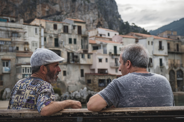 Auch in Italien spielen der demografische Wandel und Landflucht eine Rolle, wie hier in Sizilien