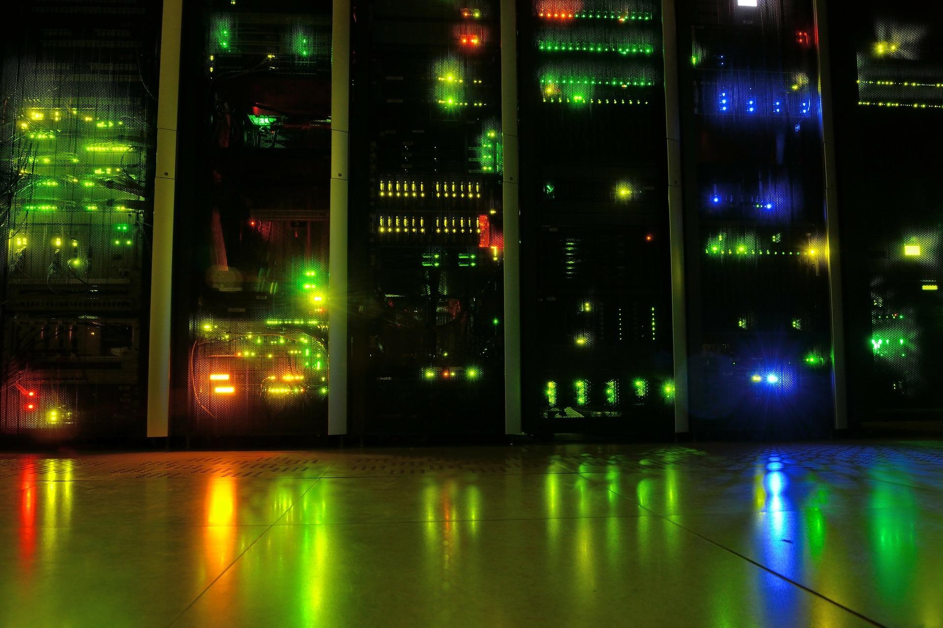 Ein Beispiel für ein Datenzentrum