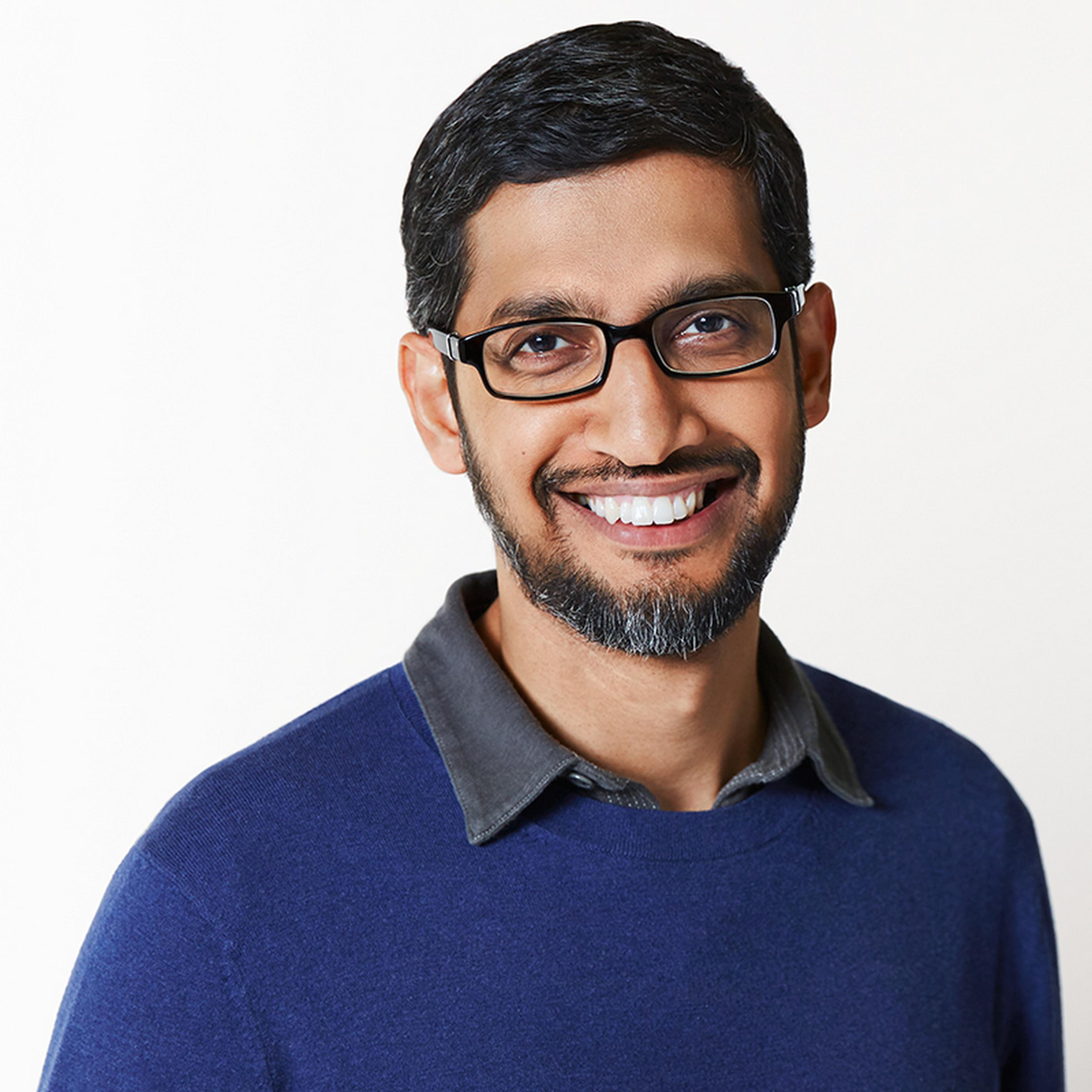 Seit August 2015 Chef von Google: Sundar Pichai
