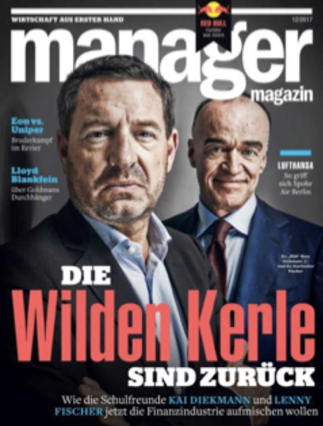 Wir in der Presse - Cover Manager Magazin