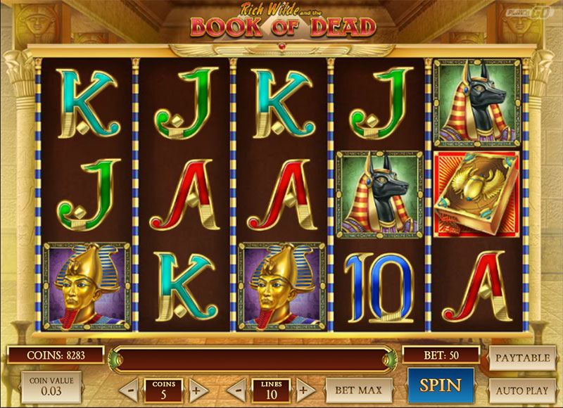 book of dead sur wild sultan casino