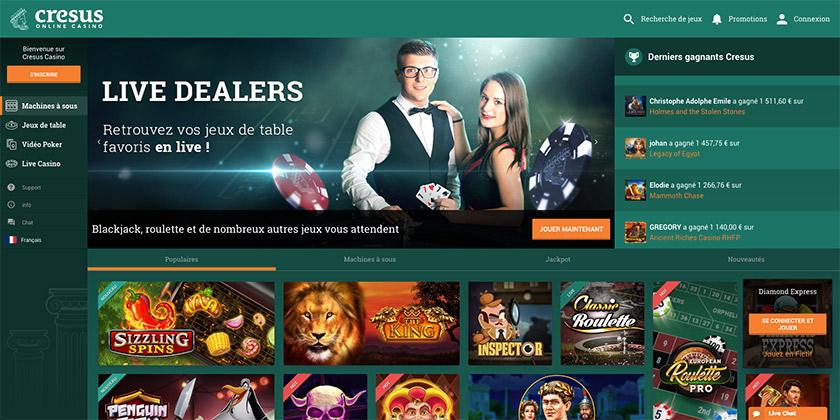 cresus screenshot desktop