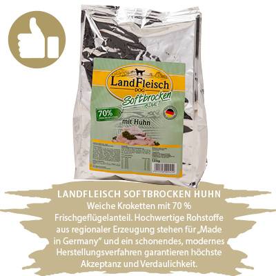 LandFleisch Softbrocken Huhn