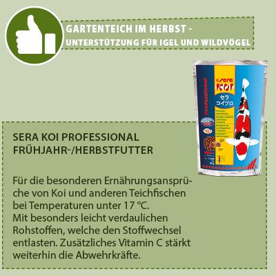 Sera Koi Professional Frühjahr-/ Herbstfutter