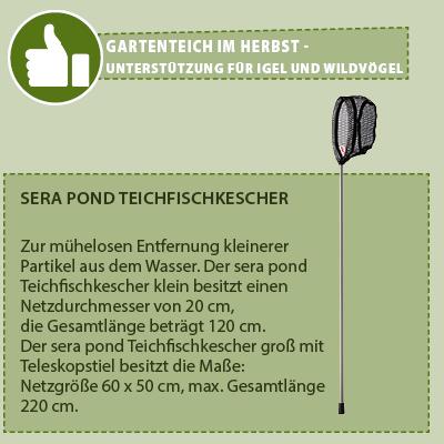 Sera Pond Teichfischkescher
