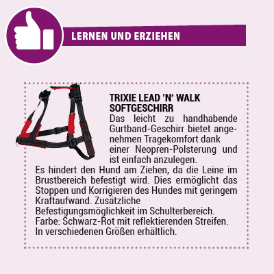 Trixie lead n walk Softgeschirr