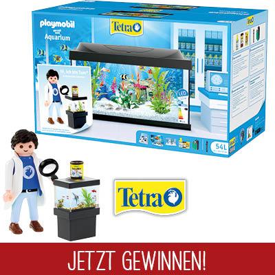 Tetra Playmobil Gewinnspiel