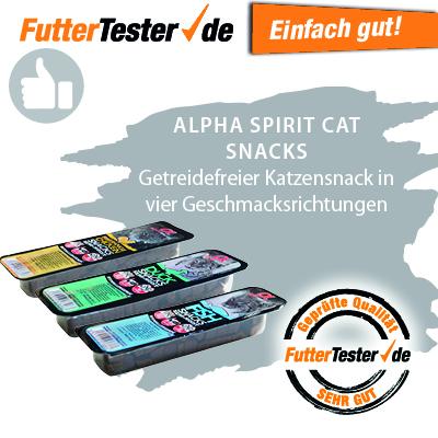 alpha spirit Katzensnack