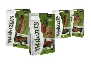 Whimzees Verpackungen
