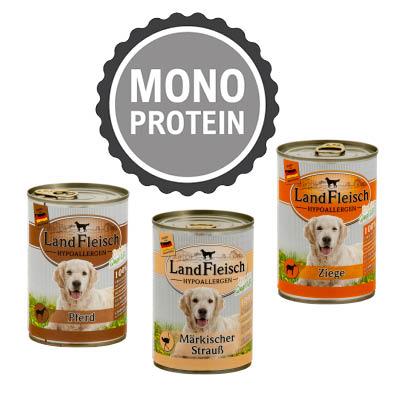 LandFleisch Hypoallergen Hundefutter monoprotein