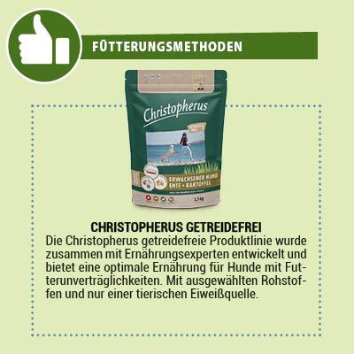 Christopherus getreidefreies Hundefutter