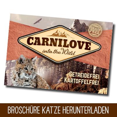 Carnilove Broschüre Katze