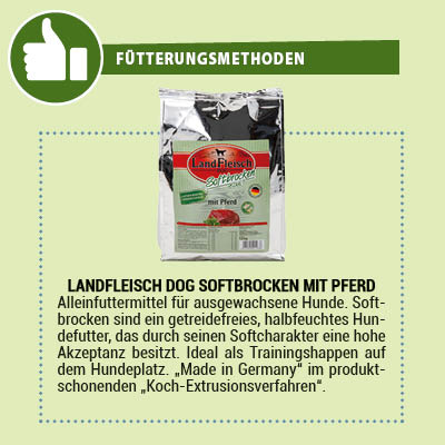 LandFleisch Dog Softbrocken halbfeuchtes Hundefutter