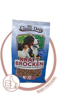 Classic Kraftbrocken Hundefutter kaltgepresst