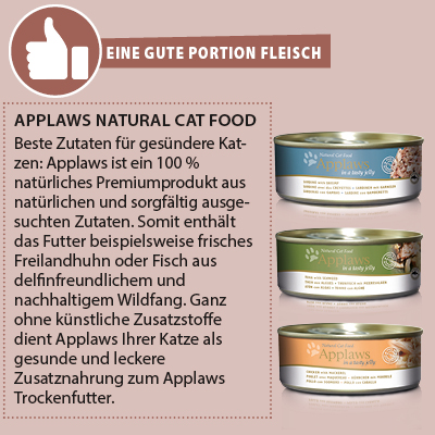 Applaws natural Katzenfutter