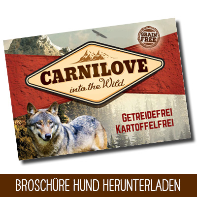 Carnilove Broschüre Hund