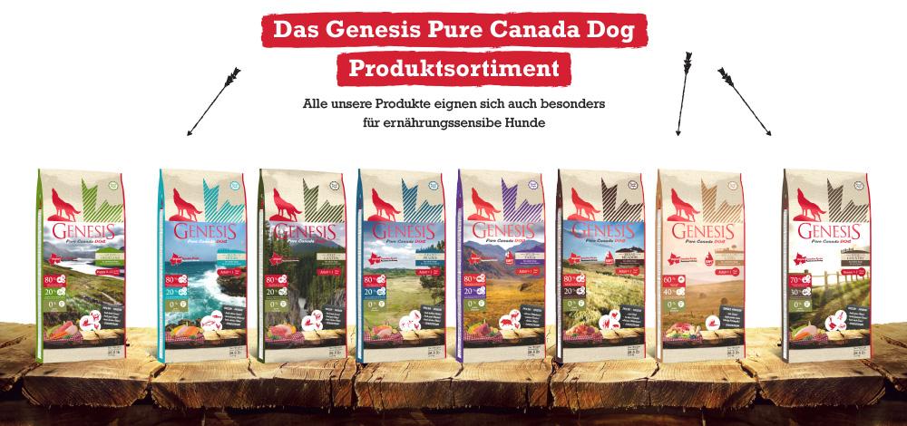 Genesis Pure Canada Produkte