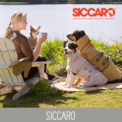Siccaro Hundebademäntel