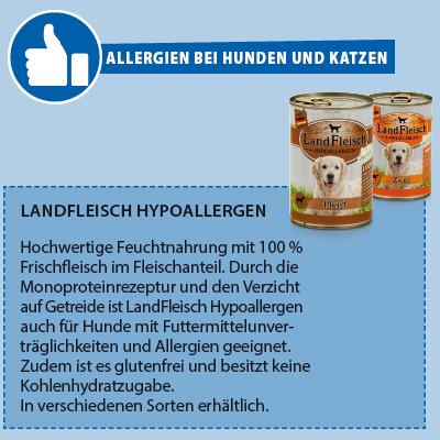 Landfleisch Hypoallergen