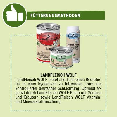 LandFleisch Wolf Hundefutter Barf