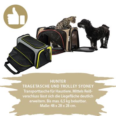 Hunter Tragetasche und Trolley
