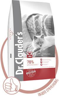 Dr.Clauder's High Premium Indoor Katzenfutter