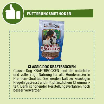 Classic Dog Kraftbrocken Hundefutter