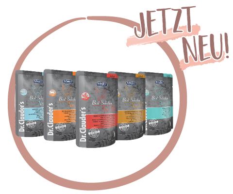 Dr.Clauder's Best Selection Pouches - Jetzt neu!