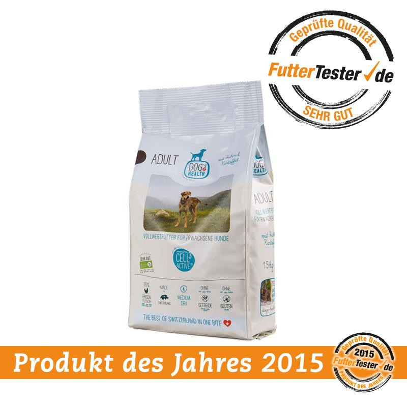 FutterTester Produkt des Jahres 2015