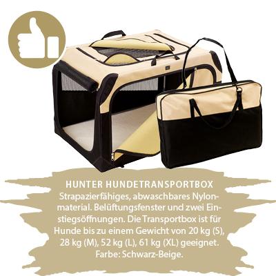 Hunter Hundetransportbox