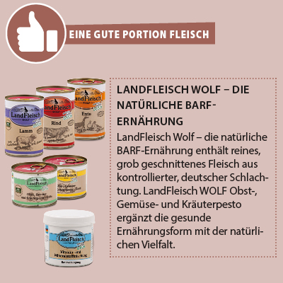 Landfleisch Wolf Nassfutter