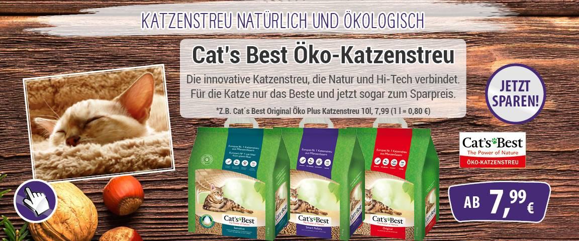 Cats Best Katzenstreu - 8 % Aktionsrabatt
