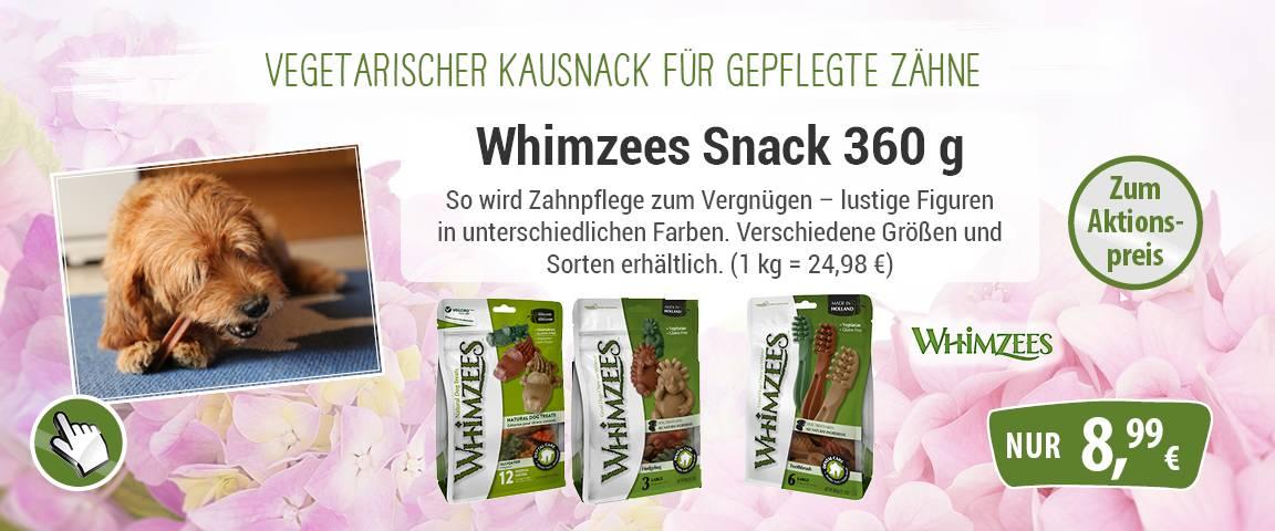 Whimzees Snacks 360g-Value Bag - 5 % Aktionsrabatt