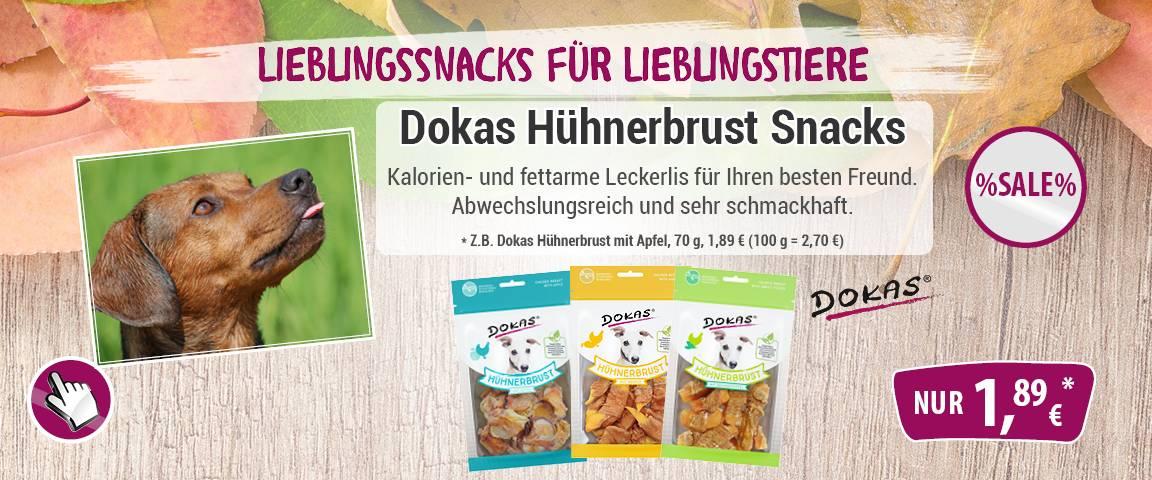 Dokas Hühnerbrust -5% Aktionsrabatt
