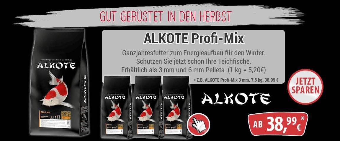 Alkote - Profi Mix - Ganzjahresfutter - Energieaufbau für den Winter - 20 % Rabatt