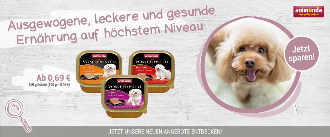 animonda Vom Feinsten für Hunde 150 g Schale