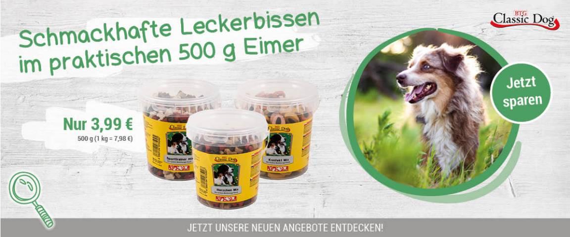 Classic Dog Mix 500g Eimer