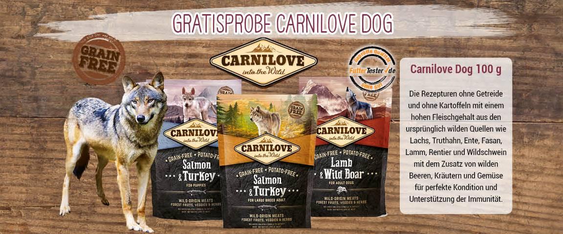 Sampling Carnilove Dog